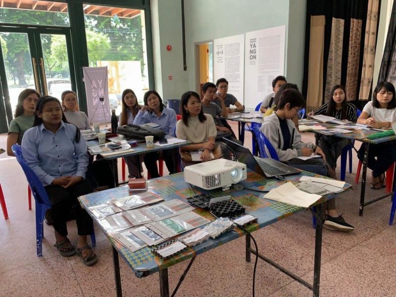 Elmich Conducts Waterproofing Training in Myanmar