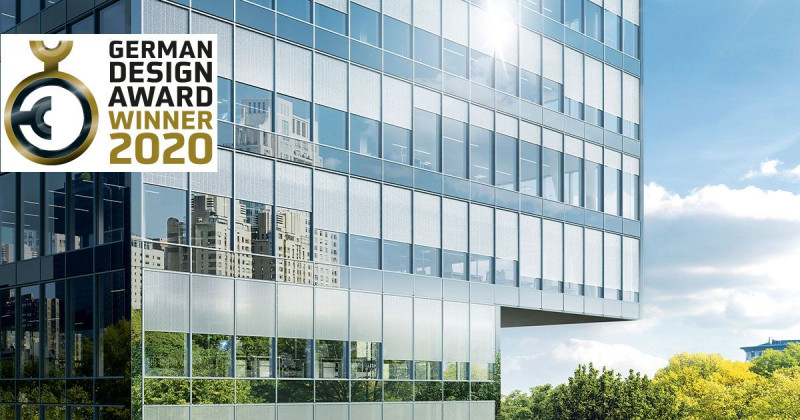 Outstanding design quality - Schüco wins German Design Award 2020