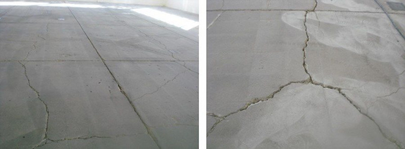 How to fix cracked epoxy flooring