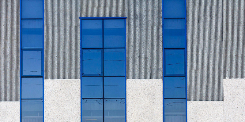 An industrial building with chill factor