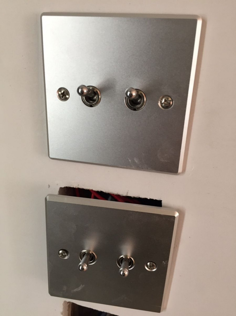 Residential Dimming Project based on Alloy Face Plate & Controller, Shelley Street