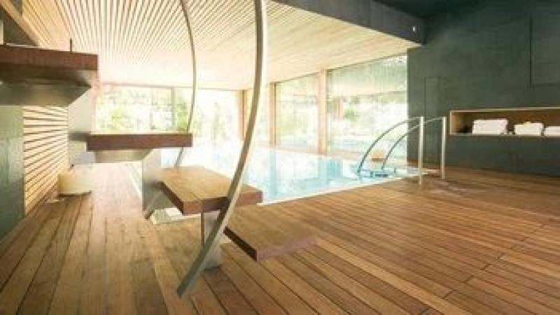 Trapa Floors For The Bathroom And Wellness Area